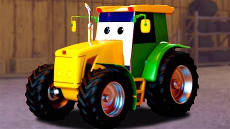 Tractor Car Garage | Learning Video For Toddlers | Kids ...