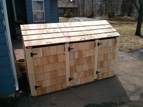 trash can shed garbage bin storage shed best storage design 2017