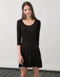 robe patineuse noire comment la porter tendances de mode With comment porter une robe patineuse