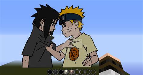 Naruto And Sasuke By Nezumipixelart On Deviantart