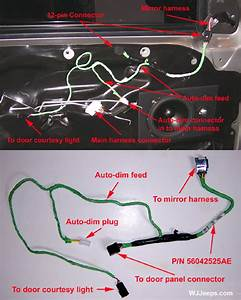 Wiring Diagram Source  2004 Jeep Grand Cherokee Door