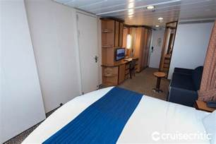 deluxe oceanview cabin on royal caribbean serenade of the seas