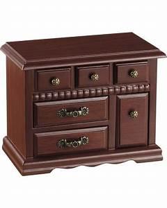 Coffre à Bijoux Bois : coffre bijoux style commode xixe si cle en bois de ~ Premium-room.com Idées de Décoration