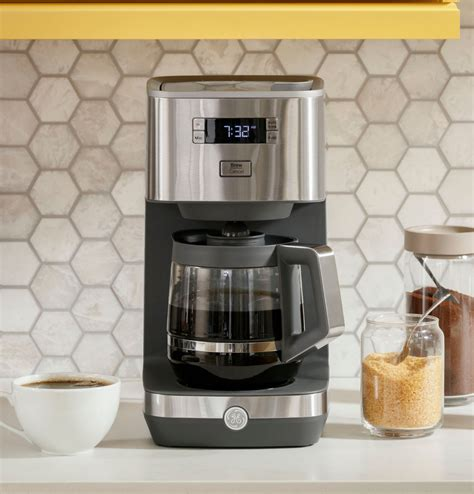 Shop ge at the amazon coffee, tea, & espresso store. GE - Classic Drip 12-Cup Coffee Maker - Stainless Steel | Okinus Online Shop