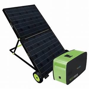 Portable Solar Powered Generator