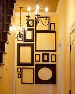 Empty picture frames stylish wall decoration ideas for A frame house decorating ideas