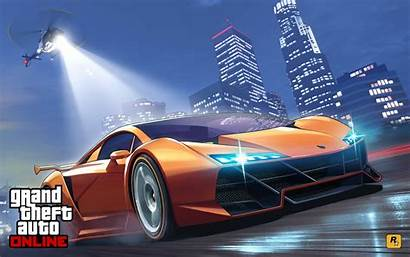 Police Gta Chase Wallpapers Screensaver Theft Grand