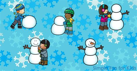 Do You Want To Build A Snowman? Sequencing Printable