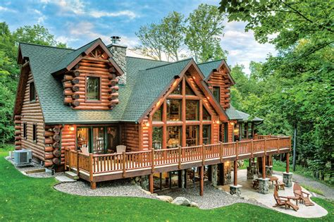 free home design plans the right wood species for your log home