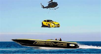 Boat Cigarette Amg Mercedes Gt Miami Racing