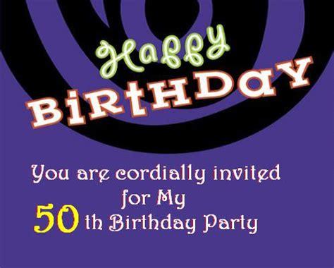 birthday invitation post card  greetingscom