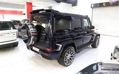 Обвес brabus для mercedes gle 63 amg w166. Mercedes-benz G63 //amg Brabus 2020 for Sale in Dubai, AED 1,190,000 , Blue,Sold