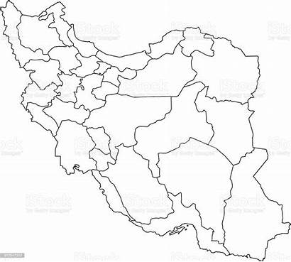 Iran Map Outline Background Vector Printable Tattoo