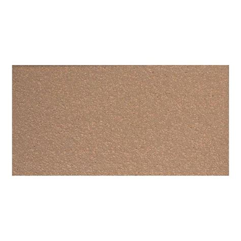 Daltile Quarry Tile Specs by Daltile Quarry Adobe Brown 4 In X 8 In Ceramic Floor And