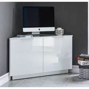 Meuble Angle Tv : meuble tv angle meuble tv ecran plat maisonjoffrois ~ Teatrodelosmanantiales.com Idées de Décoration
