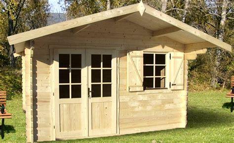 Taille Abris De Jardin Sans Permis De Construire by Abri De Jardin Pyr 233 N 233 Es 12 M 178 En Bois En Kit Sans Permis