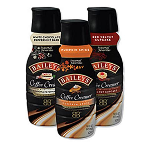 baileys coffee creamers introduces  holiday flavors