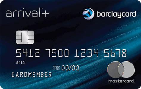 barclaycard arrival  world elite mastercard credit