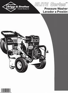 Briggs  U0026 Stratton Pressure Washer 01808 User Guide