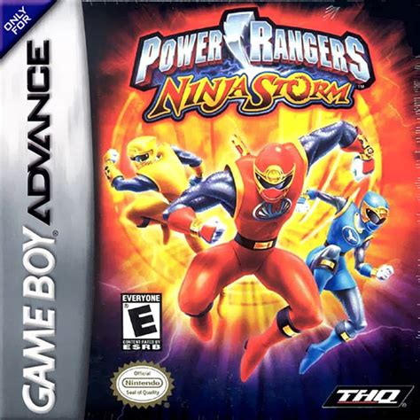 power rangers nintendo boy advance gba