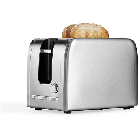 Slice Toaster by Contempo 2 Slice Stainless Steel Toaster T386 Big W