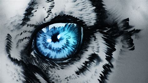 Artwork Of Eyes by White Tiger By Ryky On Deviantart