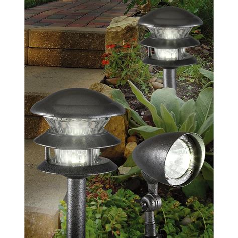 westinghouse landscape lighting westinghouse 174 8 pc odyssey high intensity outdoor