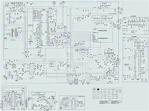 Admiral - Telefunken - 21 Inch Tv - Circuit Diagram