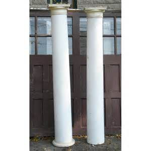 Antique Wood Columns Exterior