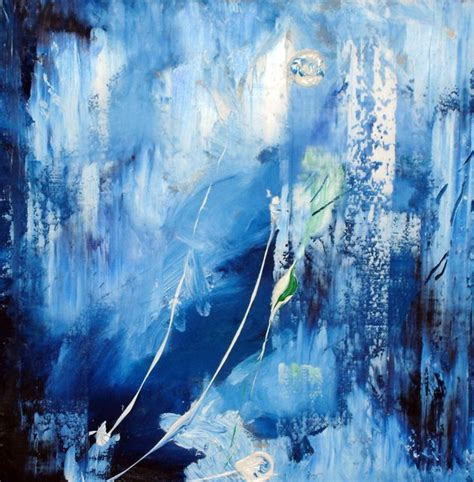 Abstract Black And Blue Painting by Blue Abstract Painting By Neilr1 On Deviantart