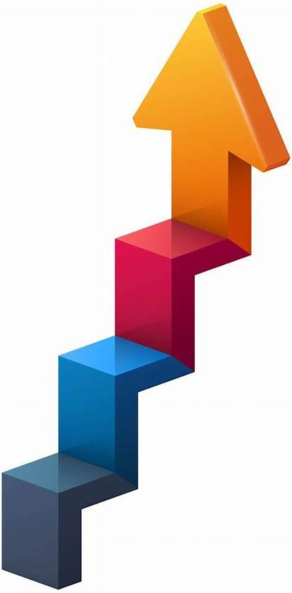 Stairs Arrow Transparent Clip Clipart Arrows Compression