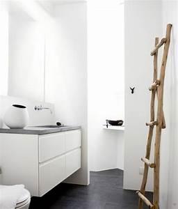 Holz Für Badezimmer : handtuchhalter badezimmer holz ~ Frokenaadalensverden.com Haus und Dekorationen
