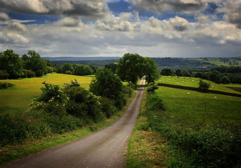 Rural Road By Lucias-tears On Deviantart