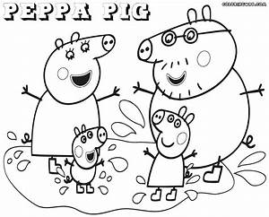 Peppa Pig Coloring Pages Coloring Pages To Download And Print