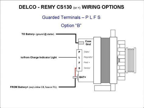 wiring the cs130 style alternator ls1tech camaro