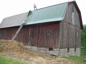 Barn metal roofing smalltowndjscom for Barn roof paint