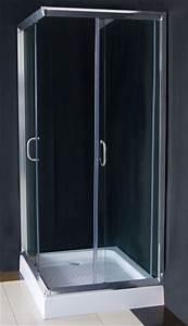 Cabine De Douche 70x70 : cabine douche angle alu verre et receveur ~ Dailycaller-alerts.com Idées de Décoration