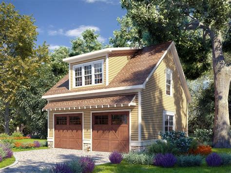 Carriage House Plans  Carriage House Plan With Boat