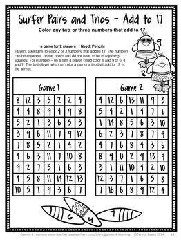 end of the year math games second grade summer packet activities matematiikkaa matematiikka