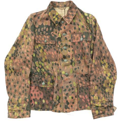 archive waffen ss  dot pattern field blouse