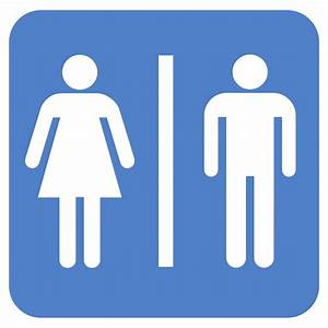 Bathroom people clipart best for Bathroom sign people