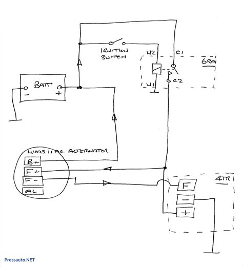 Chevy Wire Alternator Wiring Diagram Untpikapps