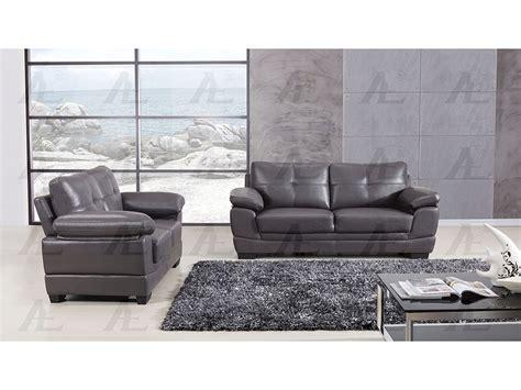 Air Sofa Set by Grey Leather Air Fabric 2pcs Sofa Set Shop For