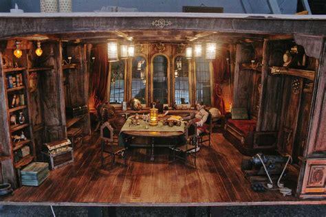 Barco Pirata Interior by Pirate Ship Captain S Room 1 6 Diorama By Slash79 Sea