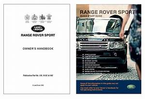 Range Rover Sport Owners Manual Pdf