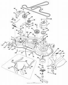 Ariens Riding Lawn Mower Belt Diagram