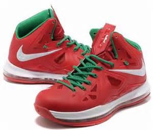 Nike LeBron 10 Christmas Shoes