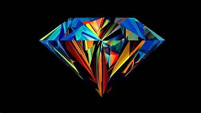Crystal Multi Colored Wallpapers Creative Diamond Colorful