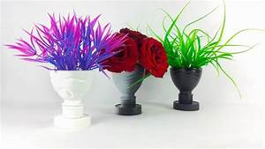 How to Make a Flower Vase Out of Plastic Bottle - Simple ...