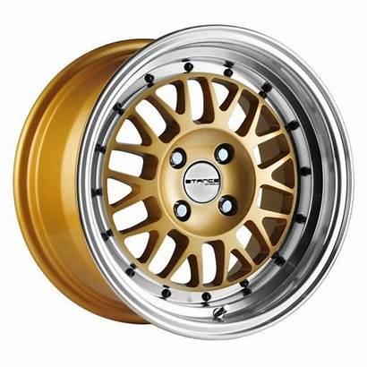 Stance Wheels Gold Mindset 15x8 4x98 Rims